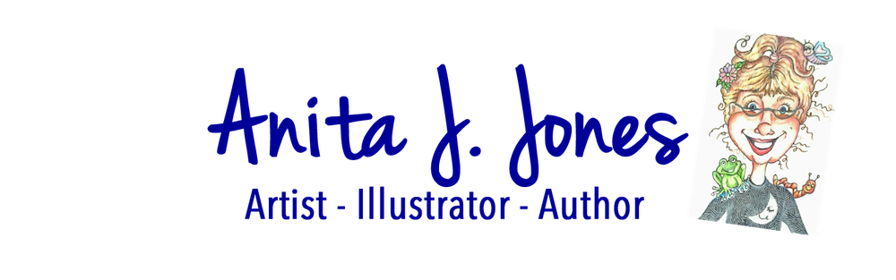 ANITA J. JONES Logo